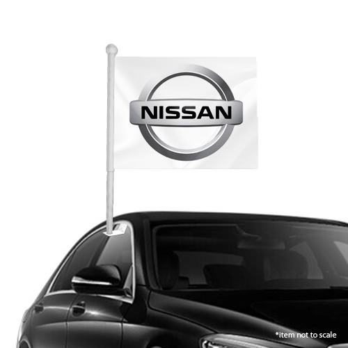 Nissan  window clip on flag NSW 48