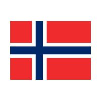 Norway 3×5 Flag