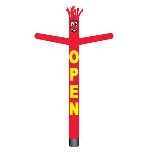 open air dancer red
