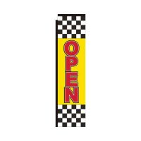Open checkered Rectangle Flag