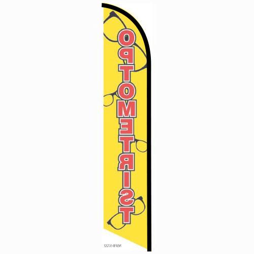 Optometrist feather flag