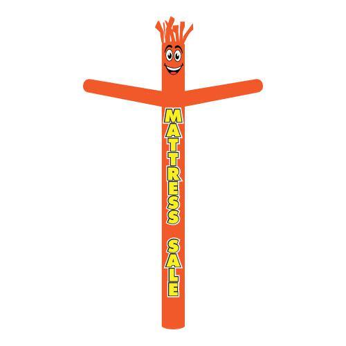 Orange Mattress Sale Inflatable Tube Man | 18ft air powered tube dancer