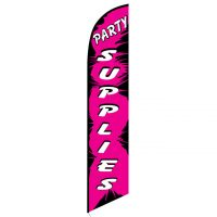 Party Supplies feather flag