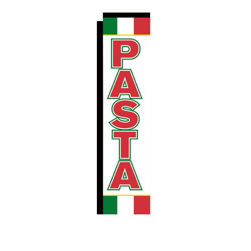 Pasta Rectangle Banner Flag