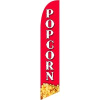 Popcorn Feather Flag Kit with Ground Stake