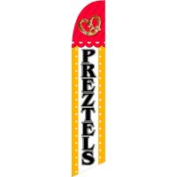 Pretzels Feather Flag Kit with Ground Stake