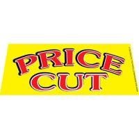 Price Cut windshield banner
