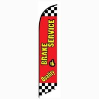 Quality Brake Service Feather Flag