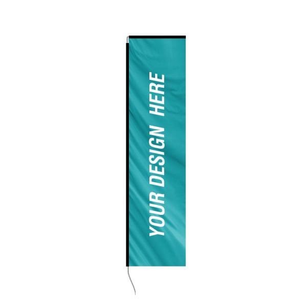 replacement rectangle banner flag kit