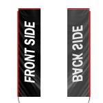 Single Sided Wind Waver Flag