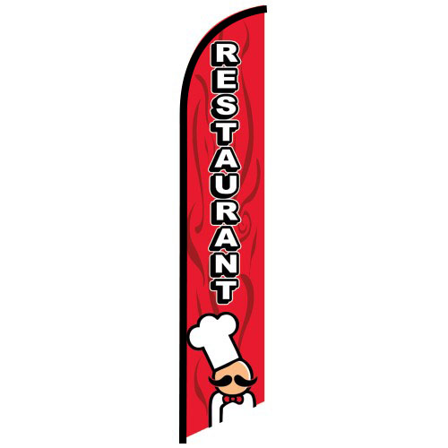 Restaurant Feather Flag