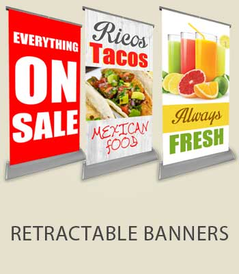 Retractable Banners Custom For Events and Businesses