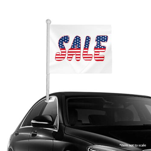 Sale American Window Clip on Flags