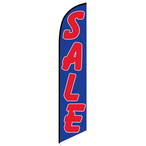 Sale (blue and red) Feather Flag