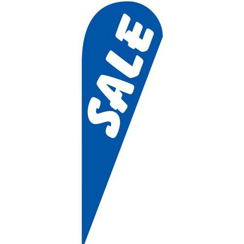 Sale Blue Teardrop Flag