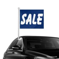 SALE blue Window Clip-on Flags