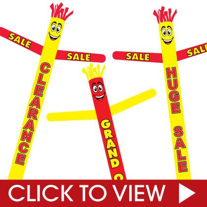 Open and Sale Inflatable Tube Man Category