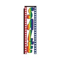Sale rainbow rectangle flag