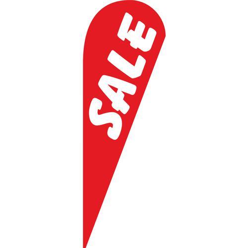 Sale red Teardrop Flag
