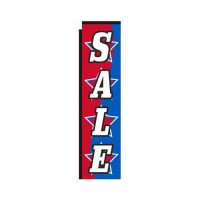 Sale Stars Rectangle Flag