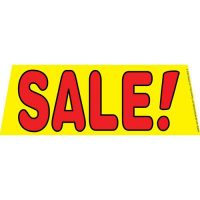 Sale Yellow windshield banner