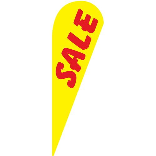 Sale yellow Teardrop Flag