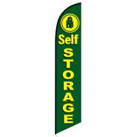Self Storage banner flag