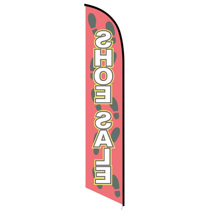 Shoe Sale feather flag