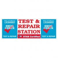 Star Certified Official Smog Station (Test & Repair) | Vinyl Banner 3FT x 8FT