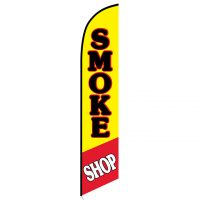 Smoke Shop feather flag