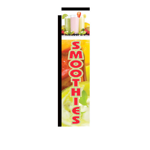 Smoothies Rectangle Banner Flag