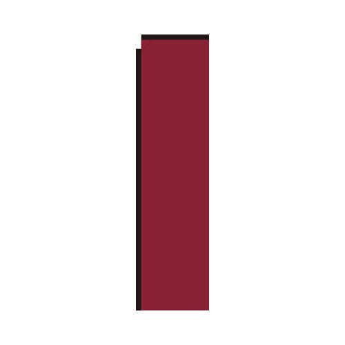 Burgundy Rectangle Flag