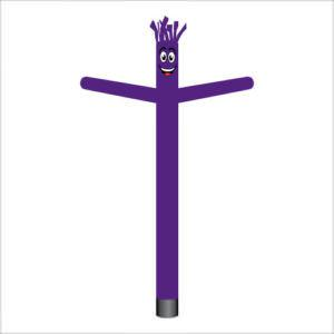 dark purple air dancer inflatable tube man