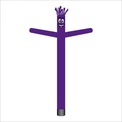 dark purple air dancer inflatable tube man