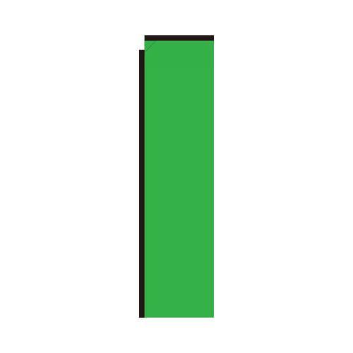 Light Green Rectangle Flag