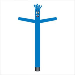 Marina blue air dancer inflatable tube man.