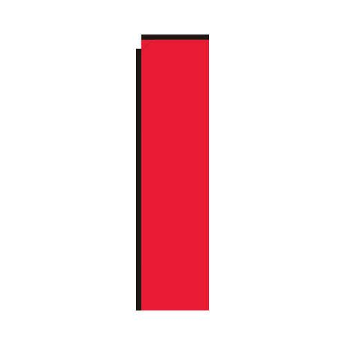 Red Rectangle Flag