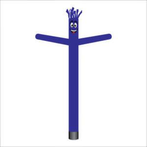 Solid Violet Air Dancer Inflatable Tube Man