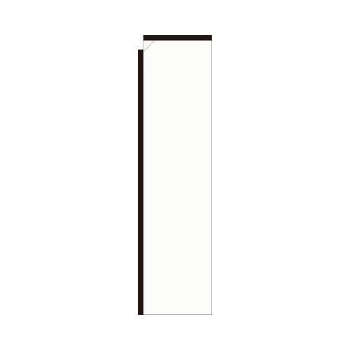 White Rectangle Flag