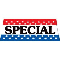 Special Patriotic windshield banner