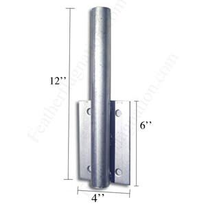 Bolt on Wall Mount for Feather Flag Kits