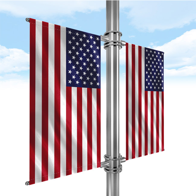 Street-Pole-Banner-USA-Flag