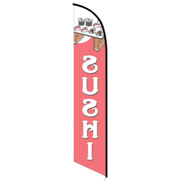 Sushi Feather Flag