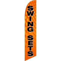 Swing Sets Feather Flag Kit with Ground Stake