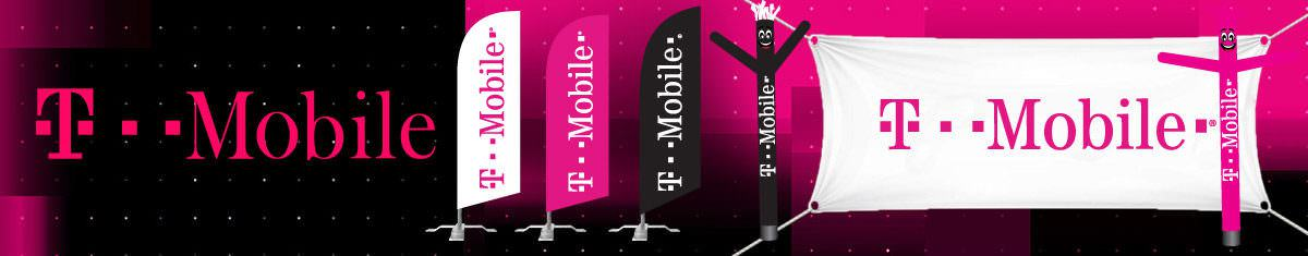 T-mobile Signs - Feather Flags, Banners, and More