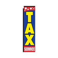 Tax Service Rectangle flag