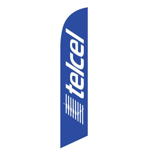 TelCel Feather Flag