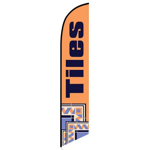 Tiles sale banner flag