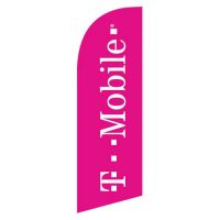 T-mobile small feather flag