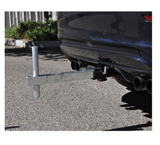 Tow hitch for Feather Flag Pole Kit
